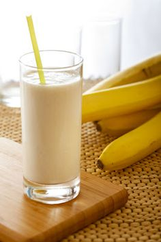 Banana Vanilla Protein Shake - tastes like a milkshake !