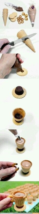 Ice cream cone cups
