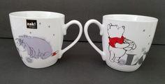 Pooh And Eeyore Love Coffee Mug Set of 2 Ceramic Cups Zak Designs  | Collectibles, Disneyana, Contemporary (1968-Now) | eBay!