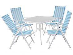 Conjunto de Mesa com 4 Cadeiras - Mor Marina
