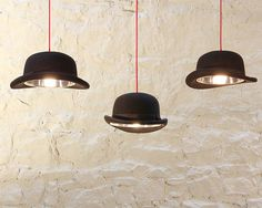 The Charles Bowler hat Light is a quirky yet stylish pendant. £76.00
