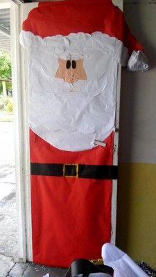 Manualidades navideñas puertas (12)