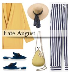 """Late August"" by pattykake ❤ liked on Polyvore featuring Anya Hindmarch, MANGO, Thomas Mason, Prada and American Apparel"
