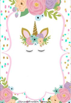 35 Best Unicorn Invitations Images Unicorn Invitations Unicorn