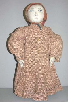 Antique Cloth Doll - Northdixiedesigns.com
