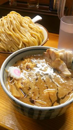 See 696 photos from 2570 visitors about dipping noodles, tsukemen, and seafood. Ramen Recipes, Gourmet Recipes, Real Food Recipes, Yummy Food, La Mian, Mie Goreng, Food Sketch, China Food, Mouth Watering Food