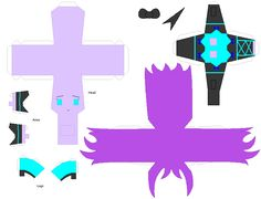 monster high papercraft | crafts scarlet songs by kpendragon artisan crafts folding papercraft ...