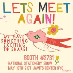 Let's meet again in New York! #NSS