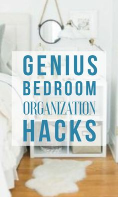 These organizing hacks are THE BEST! I am so happy I found these GREAT organizing ideas and tips! Now I have great ways to organize my home on a budget. So pinning!#organize #clean #diy #bedroom
