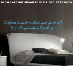 BESIDE YOU INSPIRATIONAL QUOTE TYPE 1 WALL ART STICKER LARGE VINYL DEC – Vinyl Lady Decals