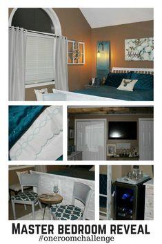 Master Bedroom Retreat Reveal – Fall One Room Challenge – Week 7 - Our Crafty Mom #oneroomchallenge #masterbedroom
