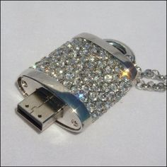 Bling! USB Flash Drives | Fun Ways to Store Your Stuff