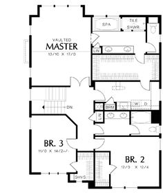 Handsome Exterior - 69483AM | Northwest, Traditional, Narrow Lot, 2nd Floor Master Suite, CAD Available, Den-Office-Library-Study, PDF | Architectural Designs