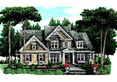 Graves Spring - Home Plans and House Plans by Frank Betz Associates