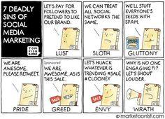 #Design #mobile 7 Deadly Sins of Social Media Marketing #SMM http://pic.twitter.com/upkEBytWJu   App Mobile 4u (@M0bileappDev) August 10 2016