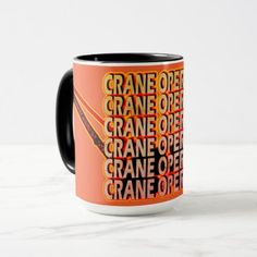 CRANE OPERATOR MUG OPERATING ENGINEER - construction business diy customize personalize