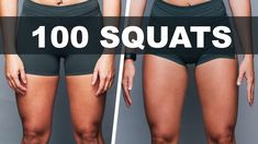 We Did 100 Squats Every Day For 30 Days.  Are you UP for the 100 Squats per Day Challenge?