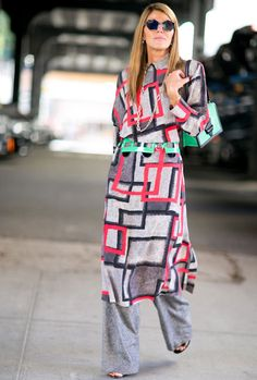 Anna Dello Russo in New York