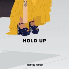 """""""Hold up! They don't love you like I love you!"""" Beyoncé Lemonade Music Video Art by Quinton Victor Design"""