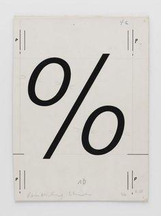 Adrian Frutiger | %-Schrift/Typografie