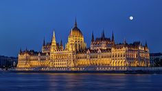 Hungarian Parliament Building in Budapest by night, Hungary, HDR Famous Places, Budapest Hungary, Hdr, Travel Photos, Fine Art America, Building, Prints, Inspiration, Biblical Inspiration