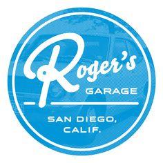 Tshirt Logo Design for Roger's Garage