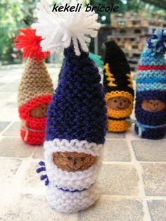 Knitting, Rose, Blog, Nutella, Couture, Plugs, Making Pom Poms, Children Garden, Christmas Tabletop