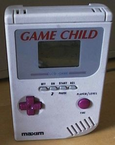 My friend had one of these instead of a Game Boy. - Imgur