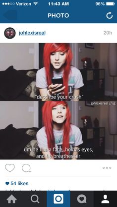When people ask who my crush is. i should probably say the same thing - Jessi