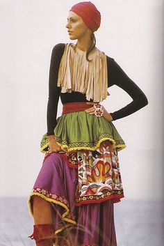 70's Gypsy fashion