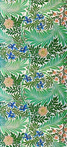 16 New Ideas wall paper pattern green william morris William Morris Wallpaper, Morris Wallpapers, Textile Patterns, Color Patterns, Print Patterns, Textiles, Art And Illustration, Illustrations, Surface Pattern Design