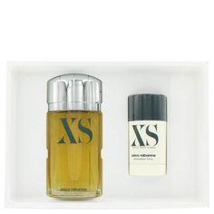XS by Paco Rabanne Gift Set -- 3.4 oz Eau De Toilette Spray + 2.2 oz Deodorant Stick
