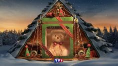 TF1 XMAS BUMPERS 2016 Direction / Concept /Design / Creative Direction & Producer : NAKED Compagnie © Director : Patrick Delobelle Made with our friends Upper First  Senior Art Director : Benoît Bayart Senior 3D Artist : Upper First team and Corentin Seguin de Broin - Pedro Carvalho Gomes Animation and Rigging: Pascal André Compositing : Laura Saintecatherine Music : StartRec