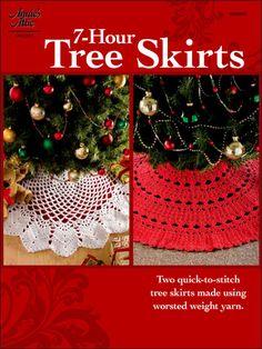 Crochet - Holiday & Seasonal Patterns - Christmas Patterns - 7-Hour Tree Skirts