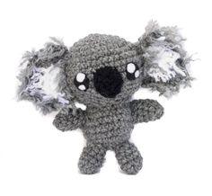 Cute Crochet Koala  This custom made crochet koala is ready to give you a great big hug.