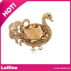 Find More Brooches Information about Synthetic Topaz Rhinestone All Over Body Duck Drake Bird Statement Fashion Pin Brooch,High Quality brooch korea,China pin lock Suppliers, Cheap brooch leather from Lailina Jewelry Co., Ltd on Aliexpress.com