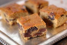 Dairy free, gluten free, grain free Paleo Pumpkin Bars speckled with chocolate chips make the perfect fall dessert.