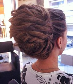 #Updo #bridal #beauty #beautiful #hair #hairoftheday
