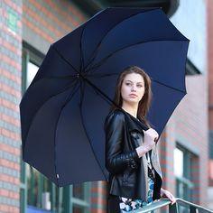 Men womens folding parasol anti Uv sun umbrellas rain wind big for two Vogue Hot