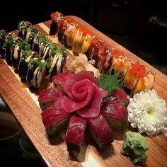 Sushi @thaiprimetampa #sushi #sushichef #sushilover #sushilovers #sushiporn #sushitime #sushilove #sushinight #sushidate #thefishmovement #cheflife #chef #eat #eatclean #sushibar #foodporn #foodie #foodstagram #foodphotography #chefsofinstagram #thaisamurai #thaiprime #sashimi #tampafoodie #tampa #tampabay #foodninfo #food Credit: @tonydecuisine