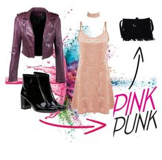 PINK PUNG by alena-bobrova on Polyvore featuring мода, Yves Saint Laurent and Givenchy