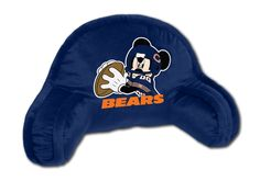 The Chicago Bears have a new quarterback.....Mickey Mouse!  #bedrest #backsupport #kidsseating
