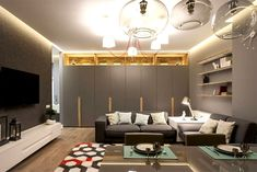 Comfortable Urban Home by SVOYA Studio
