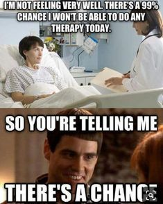 🤣 TGIF . . Thanks @ptmemes Physical Therapy Quotes, Physical Therapy Student, Physical Therapist, Medical Assistant Quotes, Medical Humor, Nurse Humor, Occupational Therapy Humor, Speech Therapy, Ot Memes