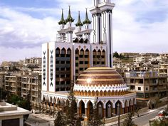 Aleppo. Syria. Alrahman mosque