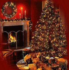 ~ BEAUTIFUL CHRISTMAS TIME ~ A collection of CLICK ON THE PICTURE (gif) AN WATCH IT COME TO LIFE. ....♡♥♡♥♡♥Love★it