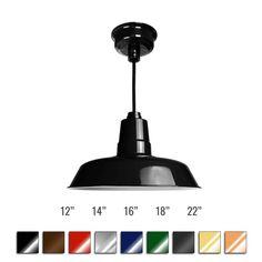 Customizable Oldage Indoor LED Barn Pendant Light