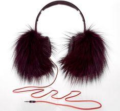 Beats by Oscar de la Renta fox fur headphones. $695? Wake me up when they go on sale...