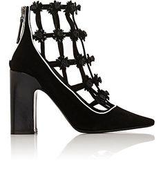 Fabrizio Viti Daisy-Appliquéd Ankle Boots - Boots - 504850298