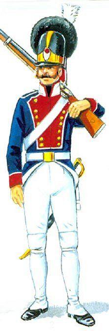 Swedish Life Grenadier 1814